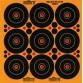 Milbro 9 Ring Splatter Targets